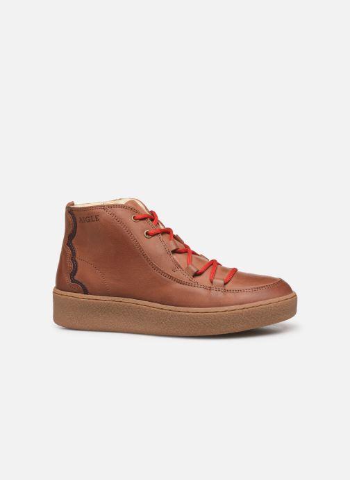 Chaussures de sport Aigle Ormea Mid W Marron vue derrière