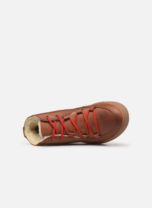 Chaussures de sport Aigle Ormea Mid W Marron vue gauche