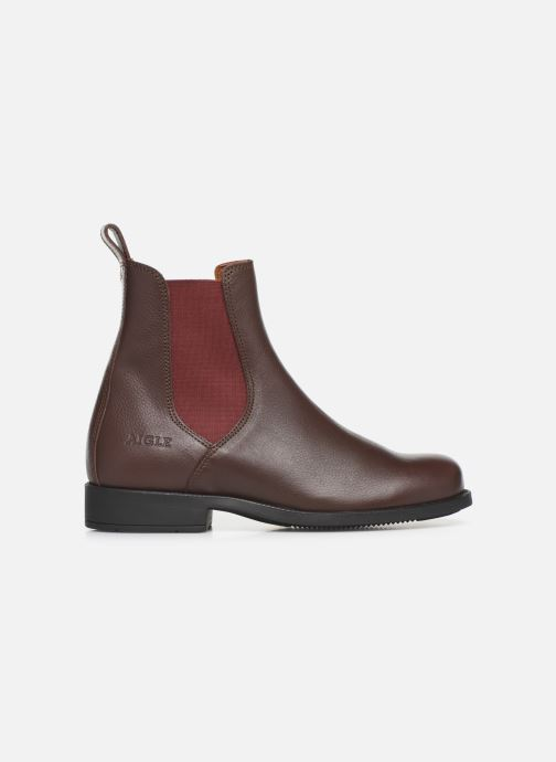 Ankle boots Aigle Caours W Brown back view