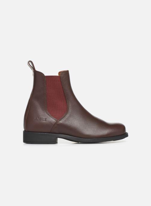 Bottines et boots Aigle Caours W Marron vue derrière