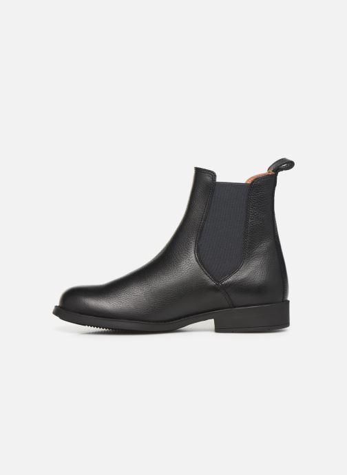 Boots en enkellaarsjes Aigle Caours W Zwart voorkant