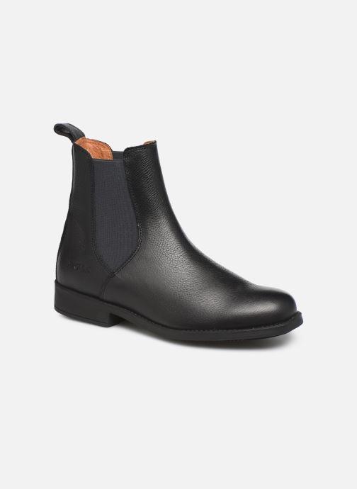 Bottines et boots Aigle Caours W Vert vue détail/paire