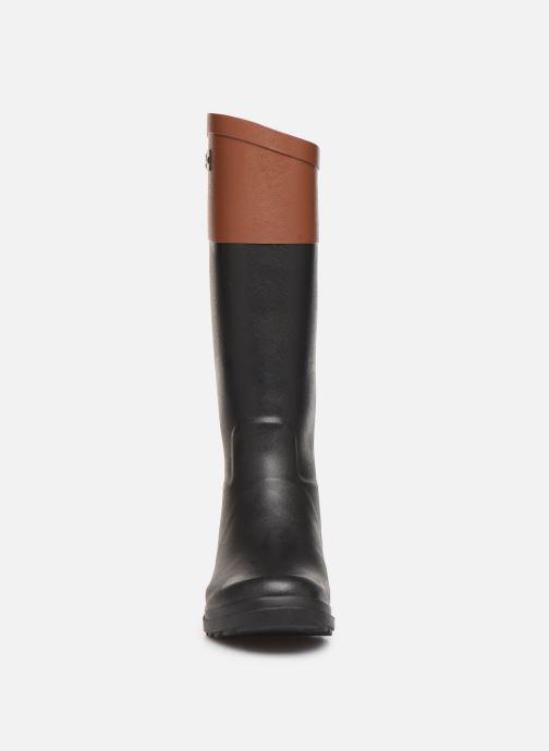 Bottes Aigle Aiglentine Color Block Noir vue portées chaussures