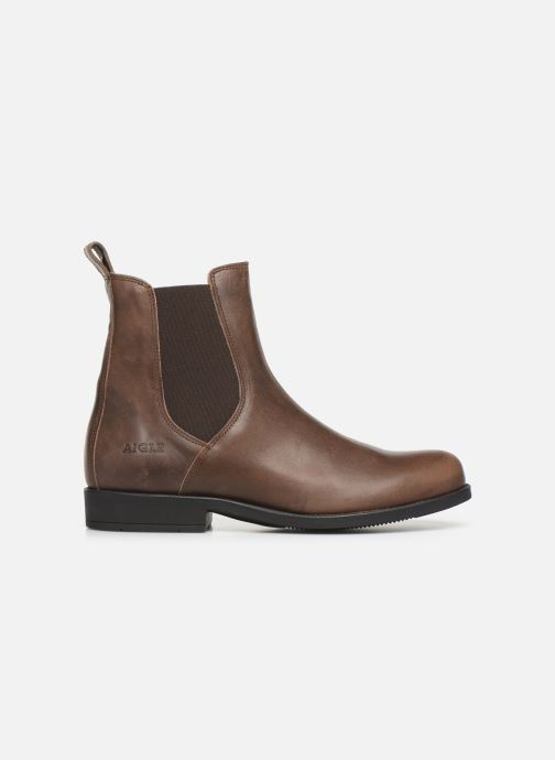 Ankle boots Aigle Caours Brown back view