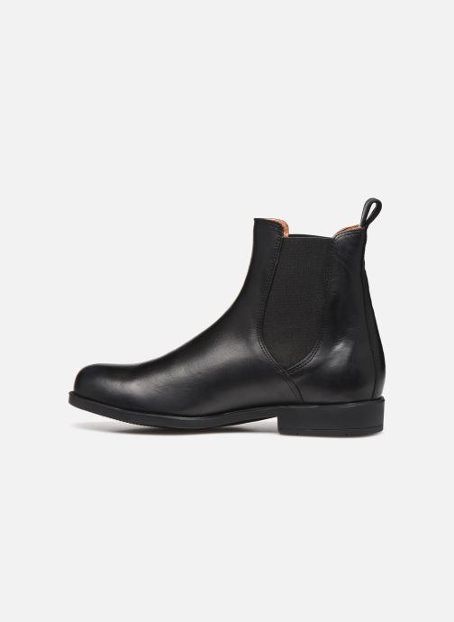 Bottines et boots Aigle Caours Noir vue face