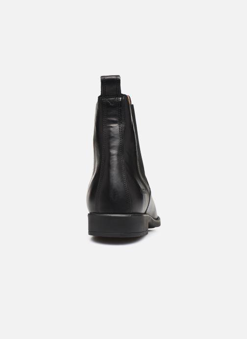 Bottines et boots Aigle Caours Noir vue droite