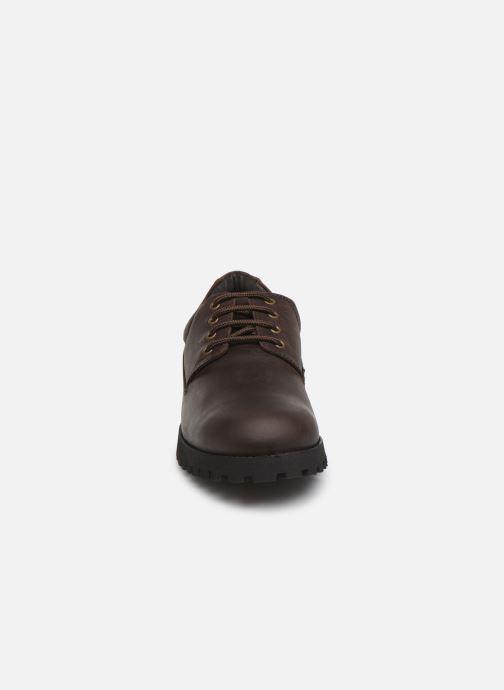 Chaussures à lacets Aigle Galego 2 Marron vue portées chaussures