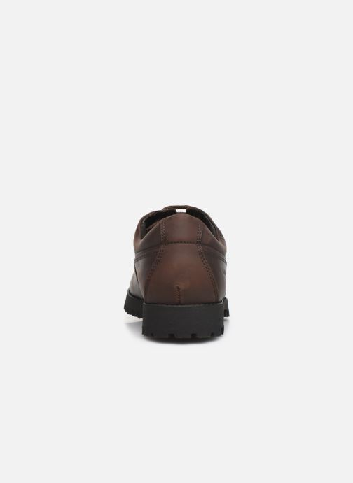 Lace-up shoes Aigle Galego 2 Brown view from the right