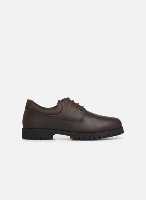 Lace-up shoes Aigle Galego 2 Brown back view