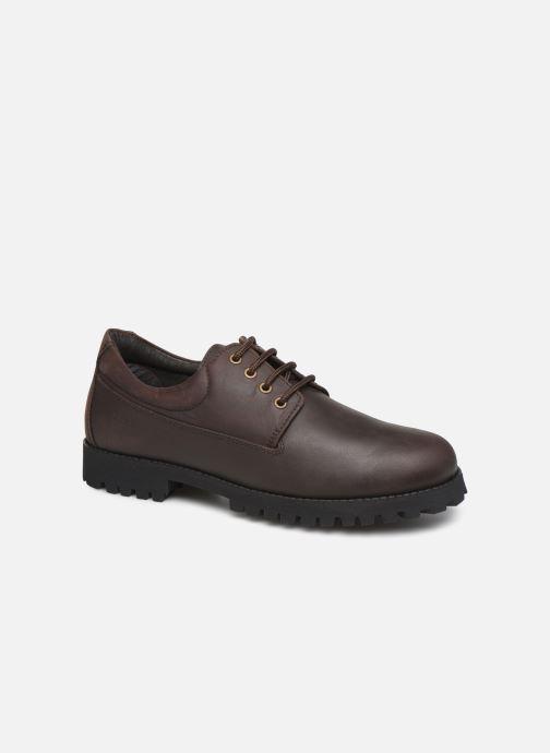 Zapatos con cordones Aigle Galego 2 Marrón vista de detalle / par