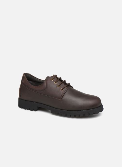 Lace-up shoes Aigle Galego 2 Brown detailed view/ Pair view