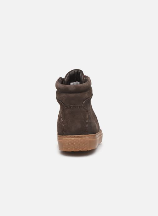 Sneakers Aigle Saguvi Bruin rechts