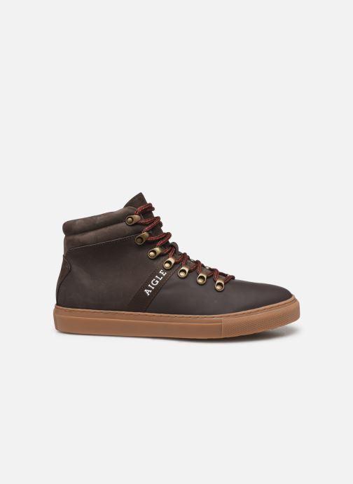 Sneakers Aigle Saguvi Bruin achterkant