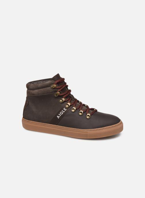 Sneakers Aigle Saguvi Bruin detail