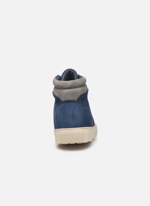 Trainers Aigle Saguvi Blue view from the right