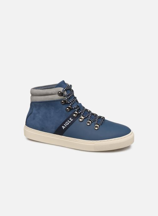 Trainers Aigle Saguvi Blue detailed view/ Pair view