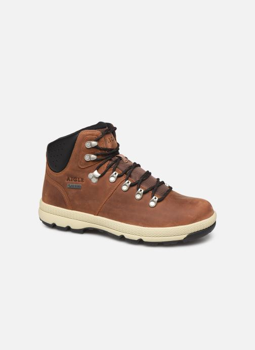 Boots en enkellaarsjes Aigle Tenere Light Retro GTX Bruin detail