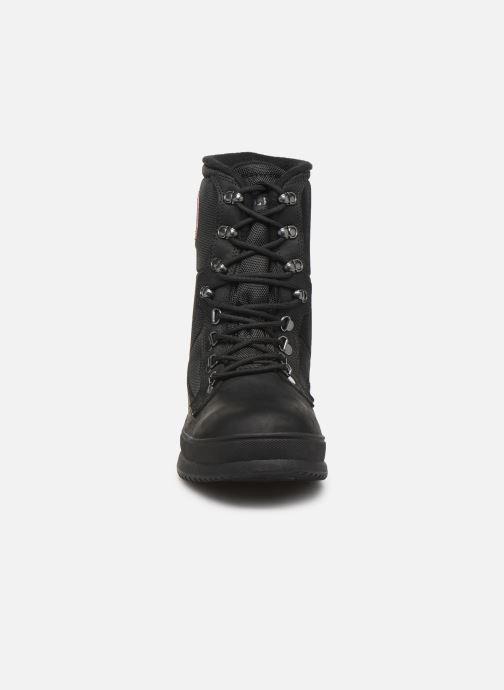 Chaussures de sport Aigle Alboez MTD Noir vue portées chaussures