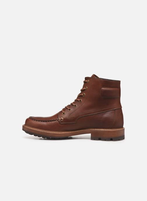 Ankle boots Aigle Licourt Brown front view