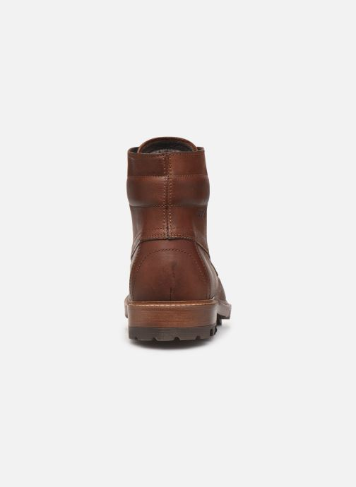 Ankle boots Aigle Licourt Brown view from the right
