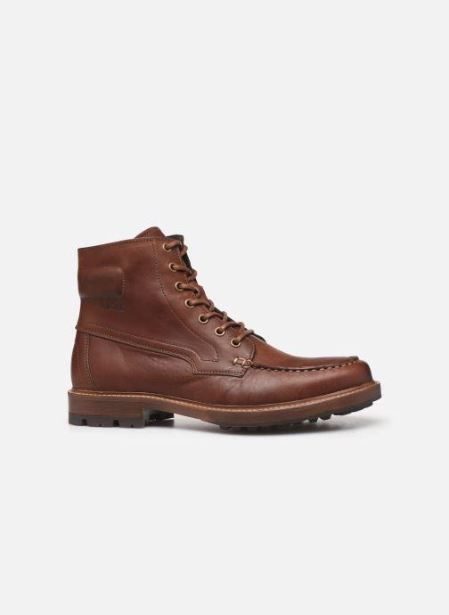 Ankle boots Aigle Licourt Brown back view