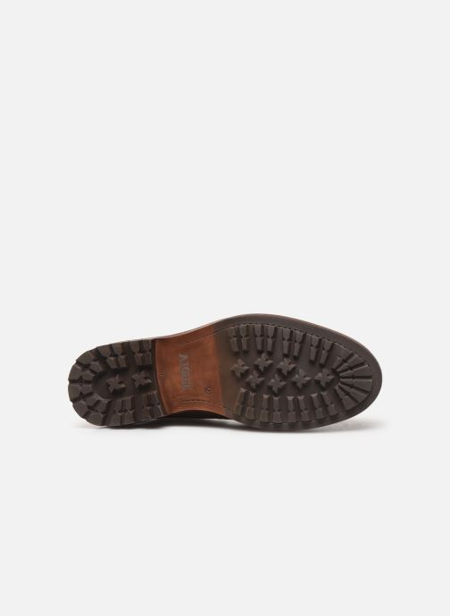 Ankle boots Aigle Licourt Brown view from above