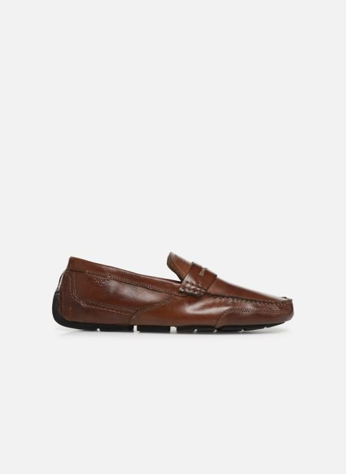 Loafers Clarks Ashmont Way Brown back view