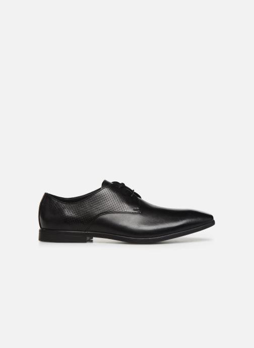 Zapatos con cordones Clarks Bampton Walk Negro vistra trasera