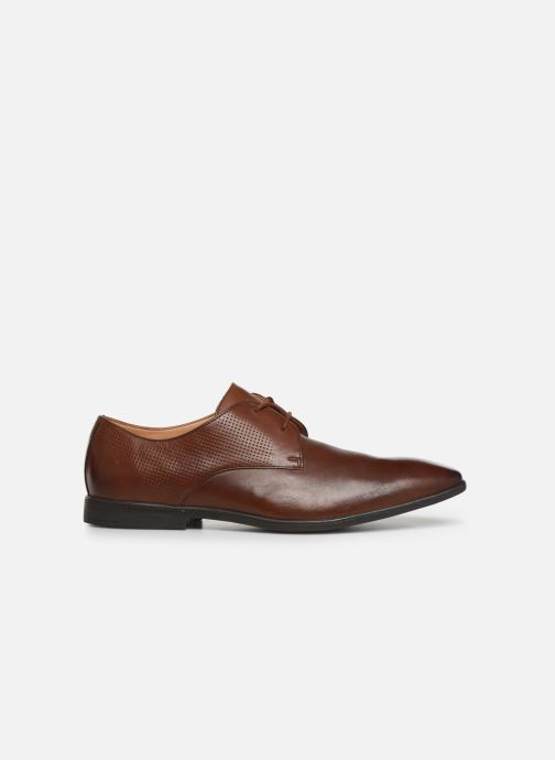 Lace-up shoes Clarks Bampton Walk Brown back view