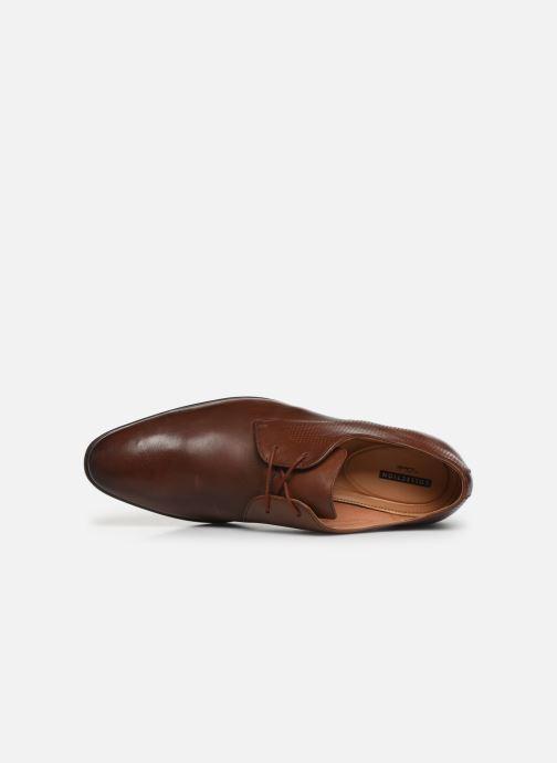 Chaussures à lacets Clarks Bampton Walk Marron vue gauche