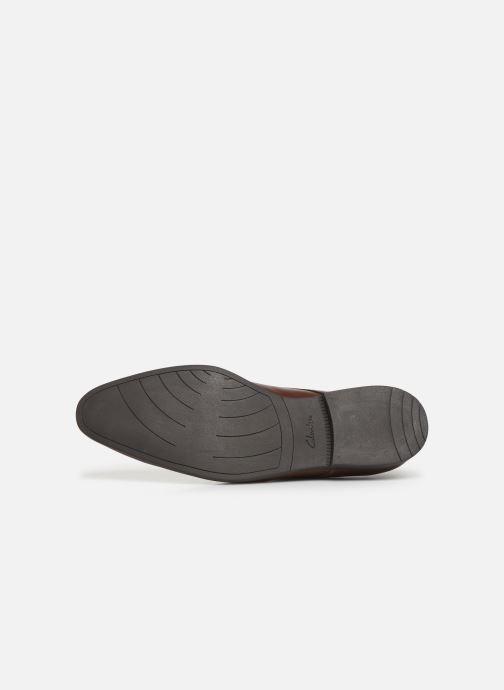 Chaussures à lacets Clarks Bampton Walk Marron vue haut