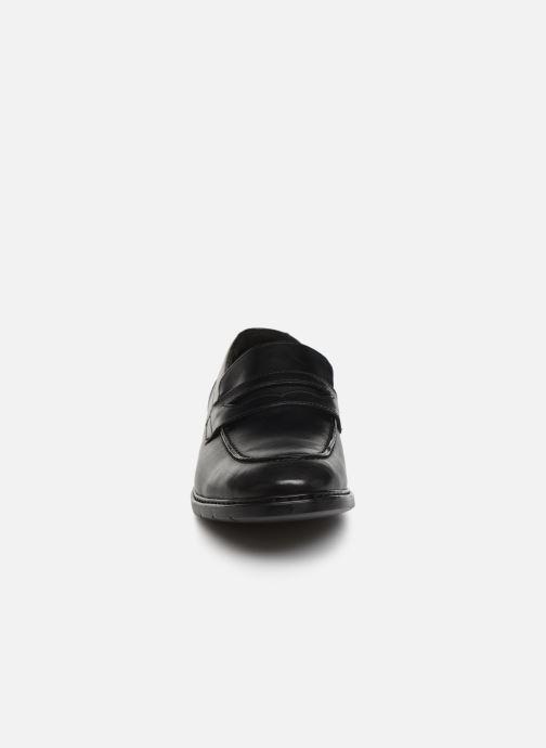 Mocassins Clarks Banbury Step Noir vue portées chaussures