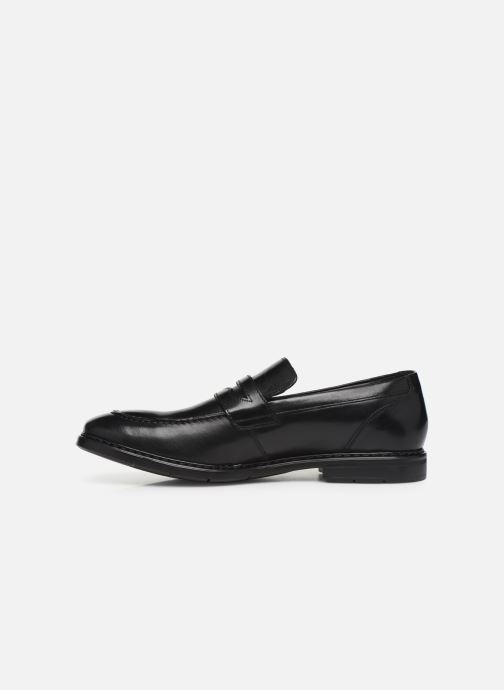 Loafers Clarks Banbury Step Black front view