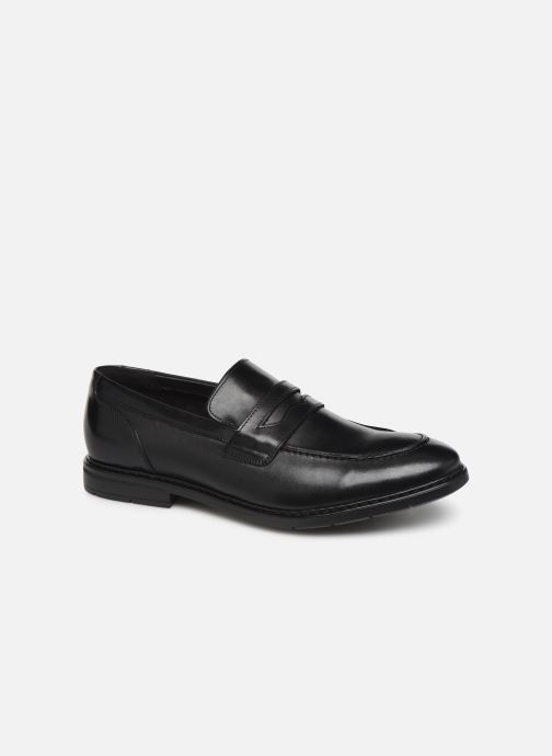 Loafers Clarks Banbury Step Black detailed view/ Pair view