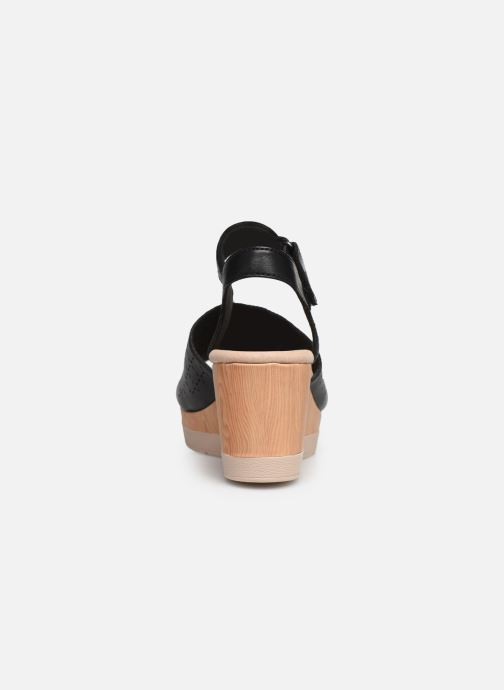 Sandals Clarks Cammy Glory Black view from the right