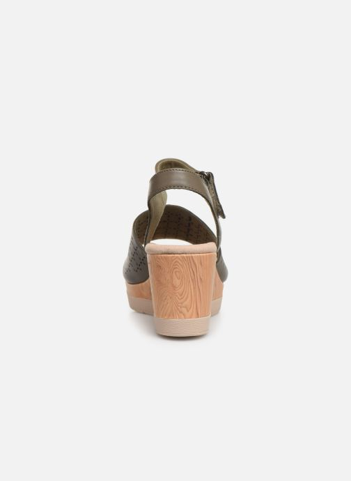 Sandals Clarks Cammy Glory Green view from the right