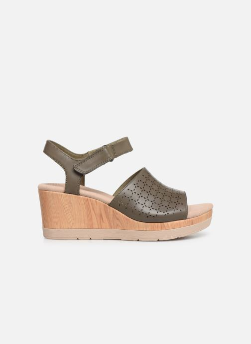 Sandals Clarks Cammy Glory Green back view