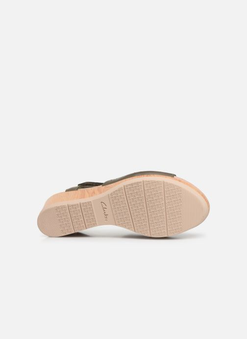 Sandales et nu-pieds Clarks Cammy Glory Vert vue haut