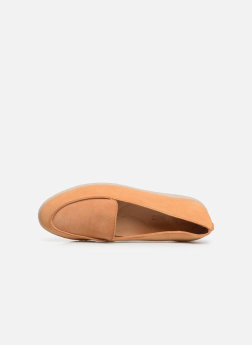 Loafers Clarks Dana Rose Beige view from the left