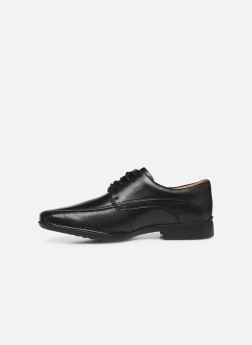 Chaussures à lacets Clarks Francis Air Noir vue face