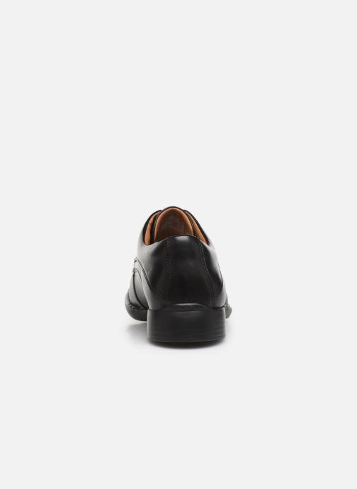 Chaussures à lacets Clarks Francis Air Noir vue droite