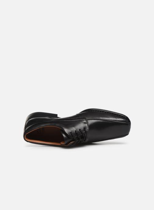 Chaussures à lacets Clarks Francis Air Noir vue gauche