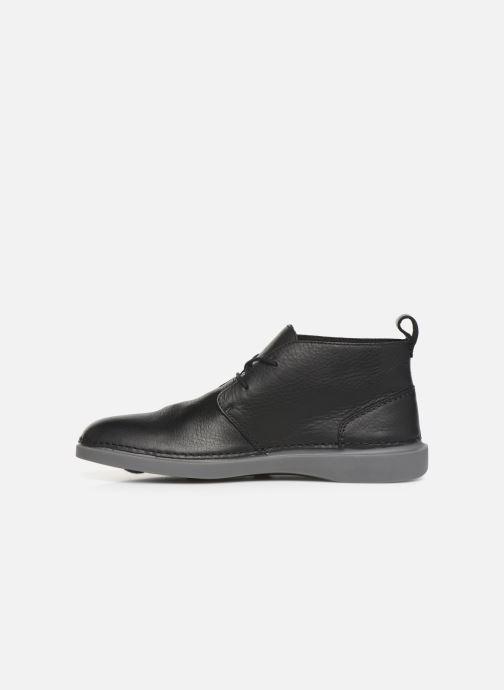 Chaussures à lacets Clarks Hale Lo Noir vue face
