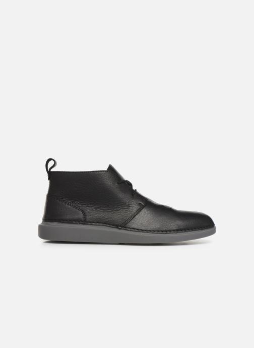 Chaussures à lacets Clarks Hale Lo Noir vue derrière