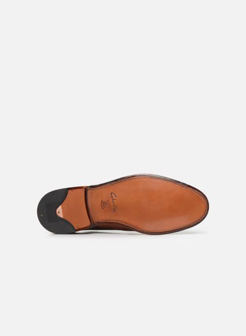 Chaussures à lacets Clarks James Wing Marron vue haut