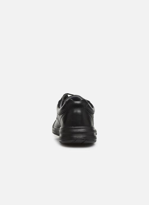 Chaussures à lacets Clarks Keeler Walk Noir vue droite