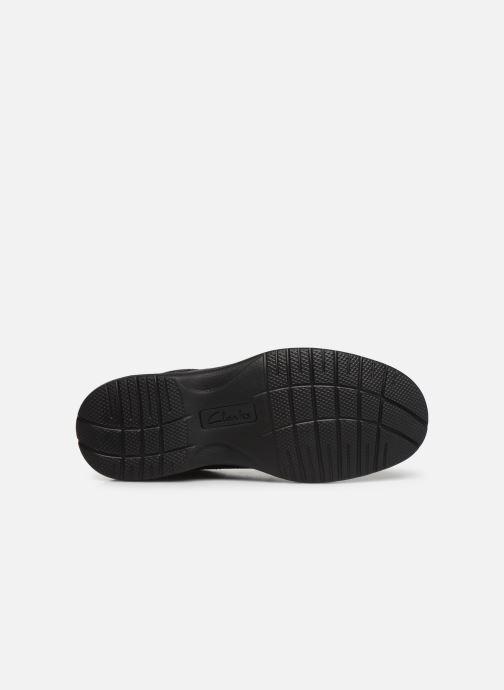 Chaussures à lacets Clarks Keeler Walk Noir vue haut