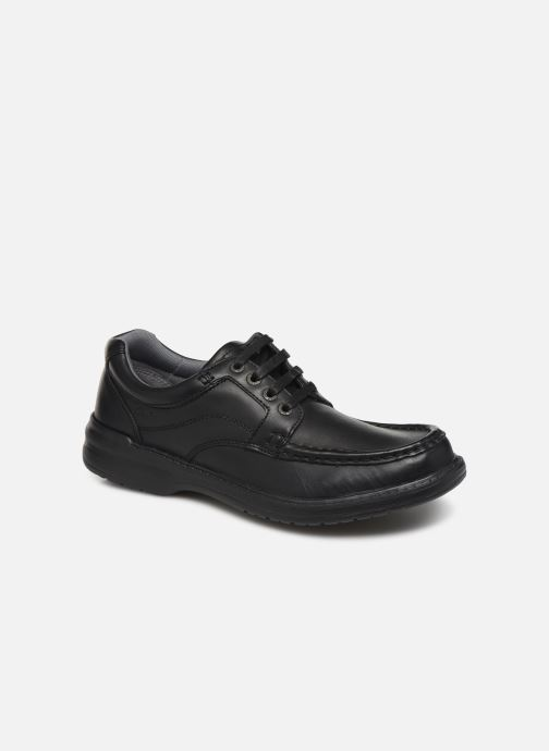 Lace-up shoes Clarks Keeler Walk Black detailed view/ Pair view