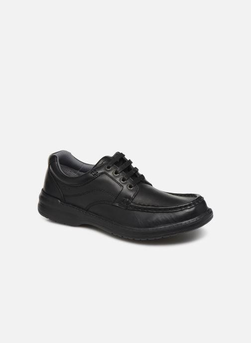 Snøresko Clarks Keeler Walk Sort detaljeret billede af skoene