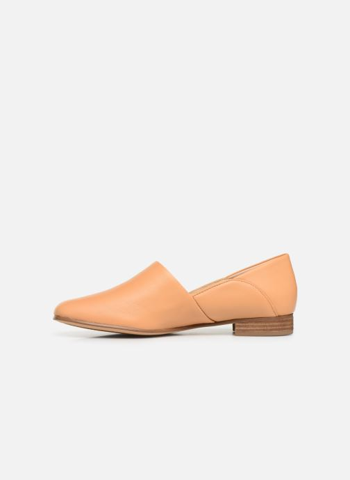Loafers Clarks Pure Tone Beige front view